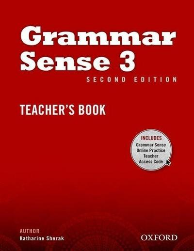 Grammar Sense 3. Teacher's Book with Online Practice Access Code Card