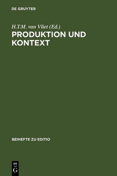 Produktion und Kontext