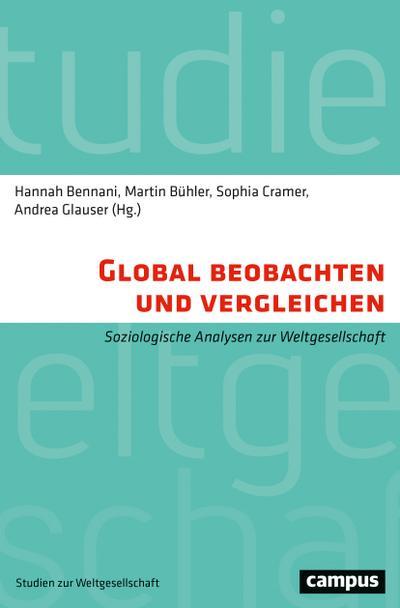 Global beobachten und vergleichen: Soziologische Analysen zur Weltgesellschaft (Studien zur Weltgesellschaft/World Society Studies, 7)