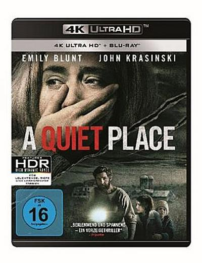 A Quiet Place 4K, 2 UHD-Blu-ray