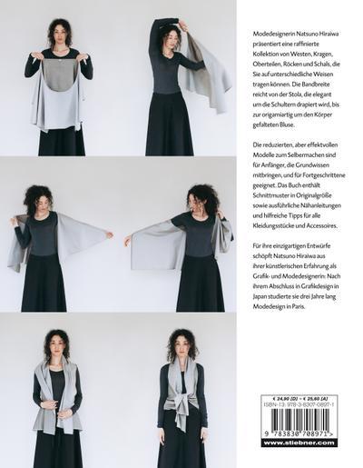 Shape Shape - Minimalistische Mode mit maximaler Wirkung - Schnittmuster und Nähanleitungen