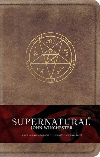 Supernatural: John Winchester, Ruled Journal