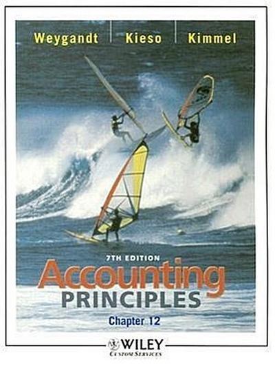 Accounting Principles, Chapter 12