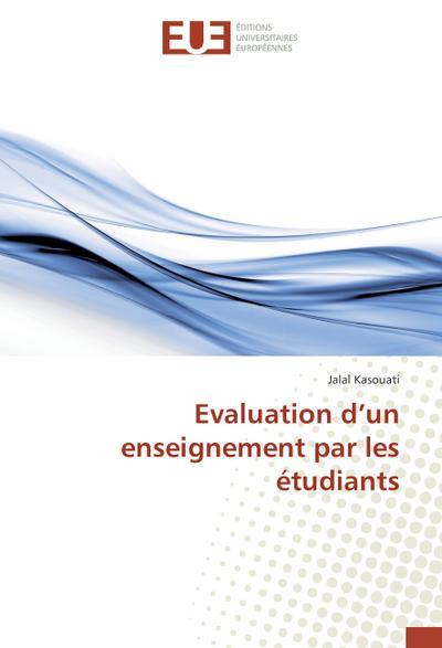 Evaluation d'un enseignement par les étudiants