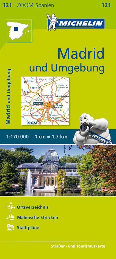 Michelin Madrid und Umgebung 1 : 170 000