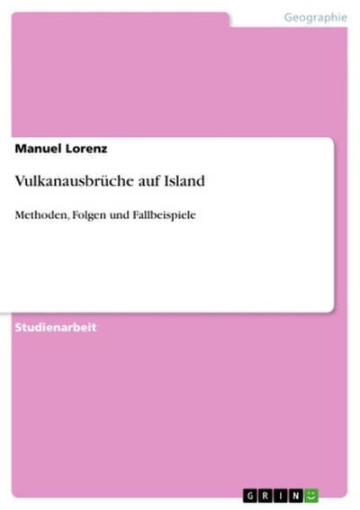 Vulkanausbrüche auf Island
