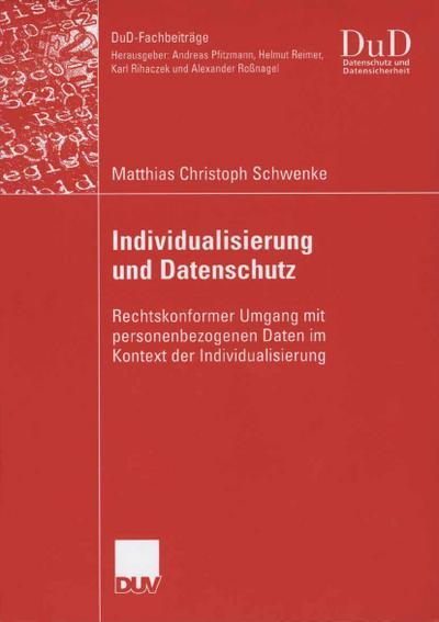 Individualisierung und Datenschutz