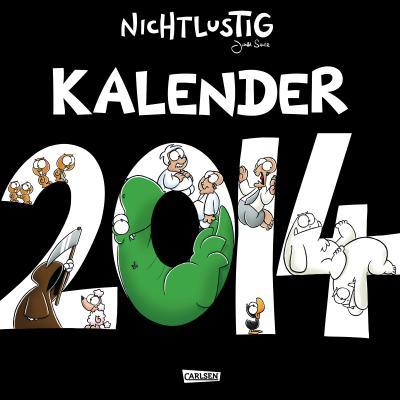 Nichtlustig Wandkalender 2014