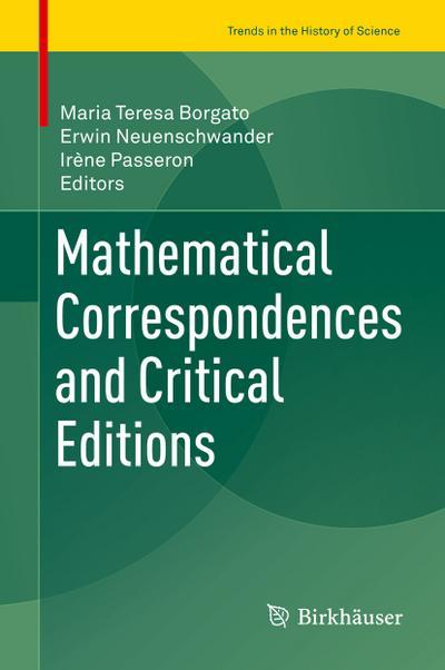 Mathematical Correspondences and Critical Editions