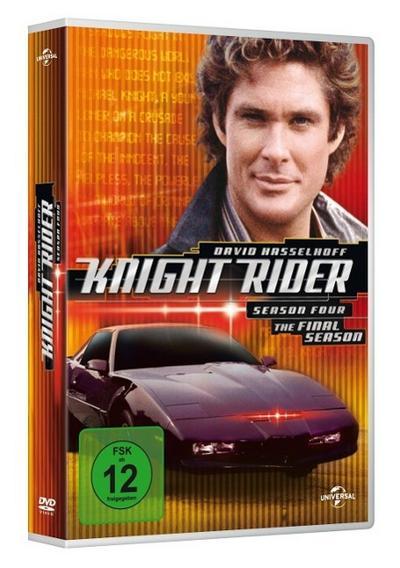 Knight Rider - Season 4 DVD-Box