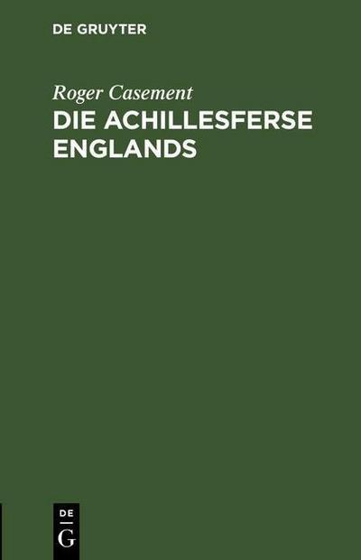 Die Achillesferse Englands