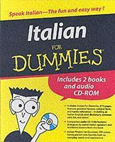 Italian for Dummies Boxed Set