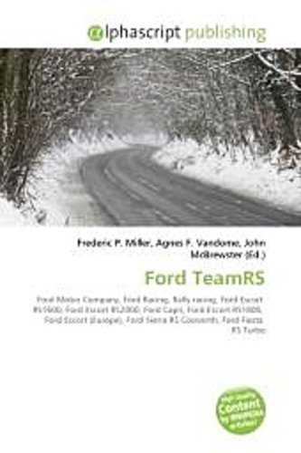 Ford TeamRS - Frederic P. Miller -  9786130731342