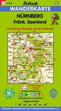 Nürnberg, Fränkisches Seenland 1 : 50 000. Fritsch Wanderkarte