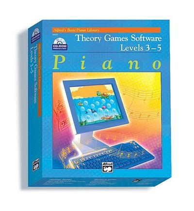 Theory Games for Windows/Macintosh (Version 1.5) -- Levels 3, 4, 5: CD-ROM