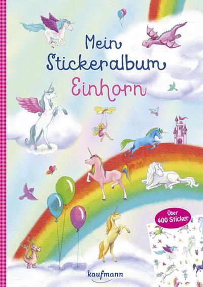 Mein Stickeralbum Einhorn