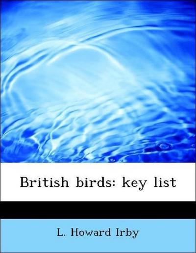 British birds: key list