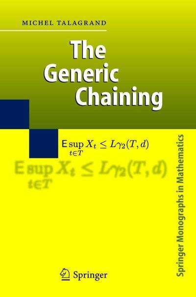 The Generic Chaining