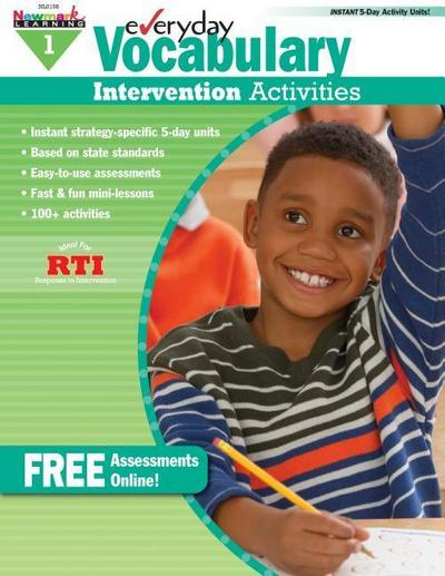 Everyday Vocabulary Intervention Activities for Grade 1 Teacher Resource