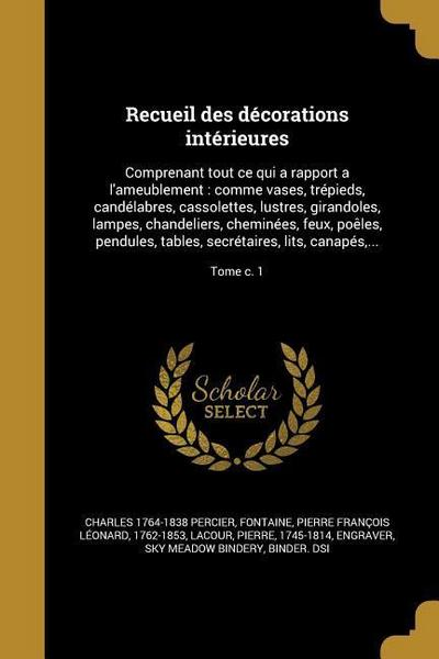 FRE-RECUEIL DES DECORATIONS IN