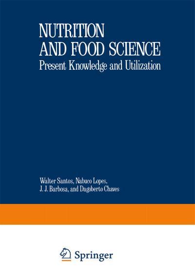 Nutritional Biochemistry and Pathology