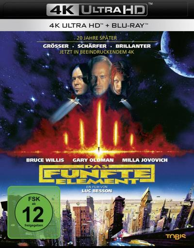 Das fünfte Element (Remastered 2017) UHD