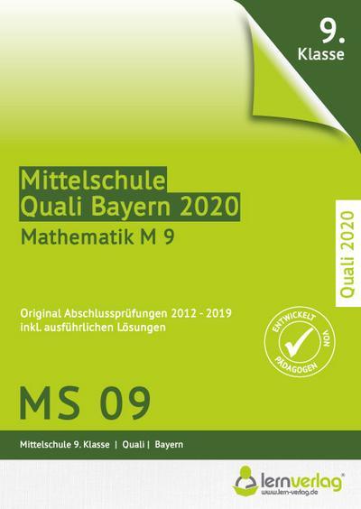 Original Abschlussprüfungen Mathematik Mittelschule M 9 Bayern - Quali 2020