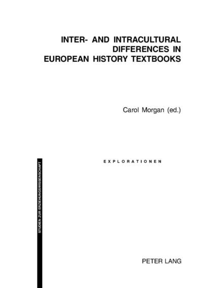 Inter- and Intracultural Differences in European History Textbooks