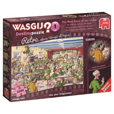 Wasgij Destiny 1 Die besten Jahre unseres Lebens! - 1000 Teile Puzzle