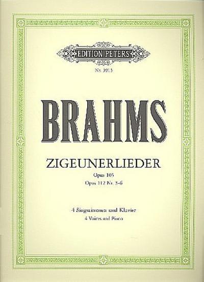 Zigeunerlieder op. 103 · op. 112; 3-6