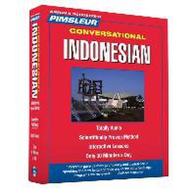 Pimsleur Indonesian Conversational Course - Level 1 Lessons 1-16 CD: Learn to Speak and Understand Indonesian with Pimsleur Language Programs