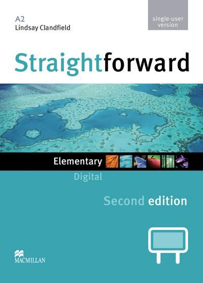 Straightforward. Elementary. Digital Material for Teachers (DVD-ROM single-user version)