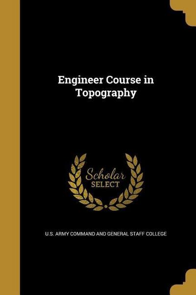 ENGINEER COURSE IN TOPOGRAPHY