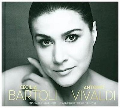 Cecilia Bartoli - Antonio Vivaldi, m. Hardcover Book, 1 Audio-CD