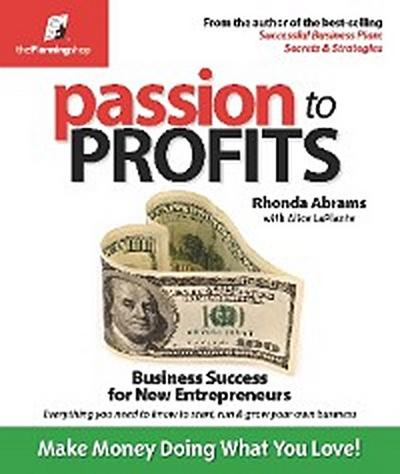 Passion to Profits