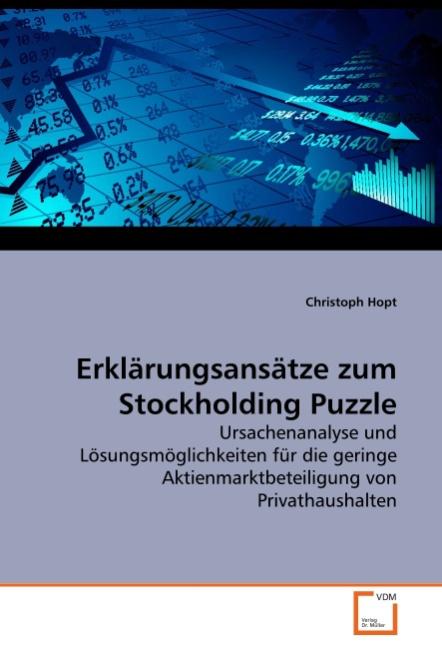 Erklärungsansätze zum Stockholding Puzzle - Christoph Hopt -  9783639284416