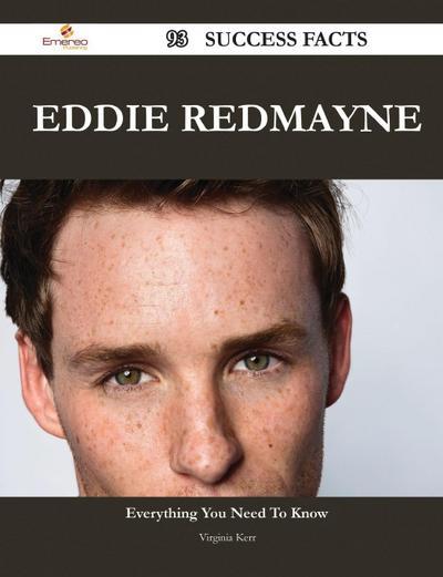 Eddie Redmayne 93 Success Facts - Everything You Need to Know about Eddie Redmayne