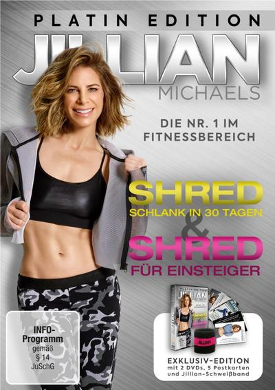 Jillian Michaels - Shred & Shred für Einsteiger