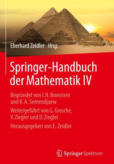 Springer-Handbuch der Mathematik IV