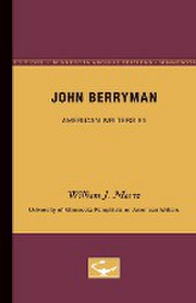 John Berryman - American Writers 85