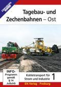 Tagebau- und Zechenbahnen - Ost