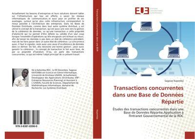 Transactions concurrentes dans une Base de Données Répartie
