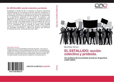 EL ESTALLIDO: acción colectiva y protesta.