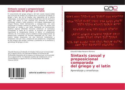 Sintaxis casual y preposicional comparada del griego y el latín