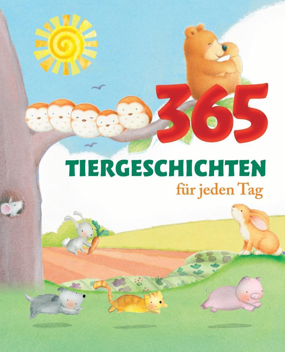 365 Tiergeschichten für jeden Tag, Annie Baker