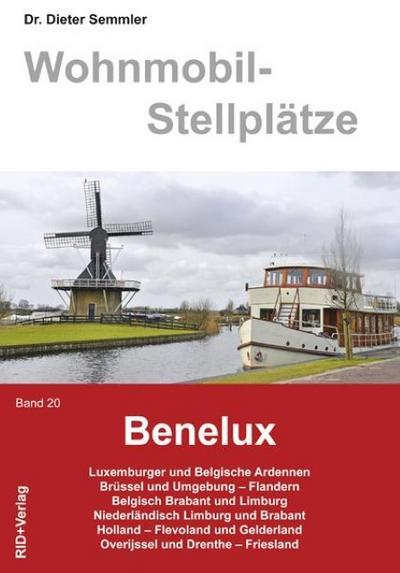 Wohnmobil-Stellplätze 20. Benelux