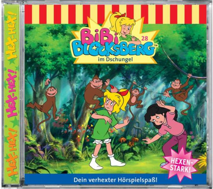Bibi Blocksberg 028. ... im Dschungel,