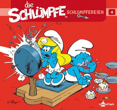 Die Schlümpfe - Schlumpfereien. Bd.4