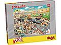 Puzzle Autorennen. 72 Teile XXL