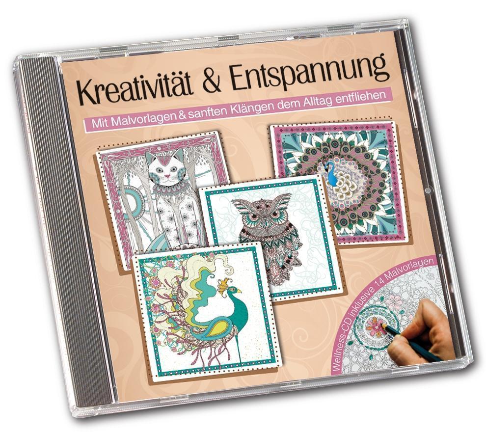 Kreativität & Entspannung-Mit Malvorlagen von Various Artists (2016 ...